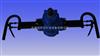 ZQSJ-100架柱支撑气动手持式钻机